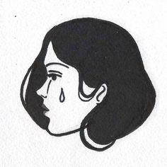 #lowart#lofi#tattoo#art#linework#0tst0y#otstoy#tattooflash#tattoo_flash#drawing#illustration#draw#sketch#stickandpoke#sticknpoke#tattoo#blackandwhite#traditionaltattooflash#abstract#girl#shoegaze#90s#tears #sadness #sad #portrait
