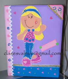 Libreta decorada en foamy
