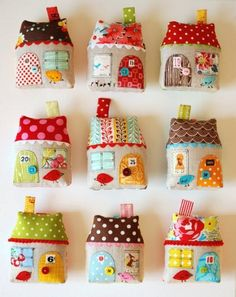 DIY: Fabric House Ornament · Quilting | CraftGossip.com