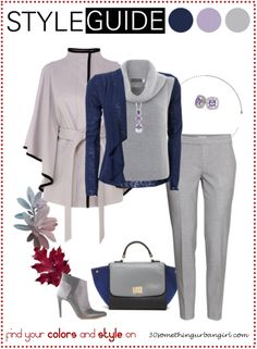 Bundle up for cold weather, pretty outfit idea for Light Summers ⁕ Find your best colors and style on www.30somethingurbangirl.com
