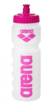 Arena Water Bottle - Clear / Pink