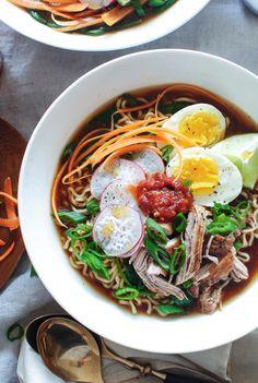 Pork Ramen Noodle Bo