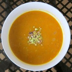 Curry Ginger Squash Soup
