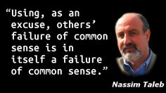 Nassim Taleb - Common Sense