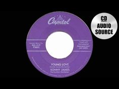 1957 HITS ARCHIVE: Young Love - Sonny James (a #1 record) - YouTube