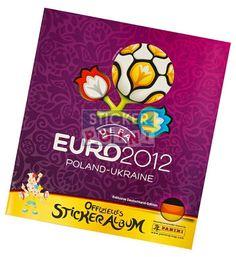 Panini EM Euro 2012 Sammelalbum Vorderseite
