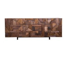 Relief Credenza from Todd St. John at Interior Design productFIND: Credenza composed of hand cut and fitted solid wood shapes. Glass Sideboard, Modern Sideboard, Cool Furniture, Furniture Design, Wooden Furniture, Best Interior, Interior Design, Best Buffet, Furniture Inspiration
