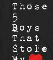 Those 5 Boys that Stole My Heart