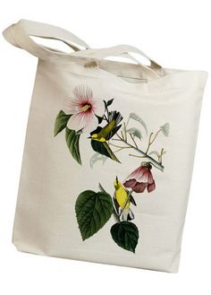Yellow Warbler Tote