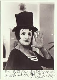 Marcel Marceau, world famous mime. Marcel, Culture Of France, Bennett Cerf, Pierrot Clown, George Burns, Le Clown, Circus Costume, Circus Performers, Wtf Face