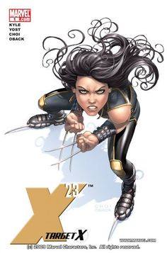 Because you demanded it! Superstar Top Cow artist MIKE CHOI joins the team as X-23 returns, picking up the bloody pieces where her first mini-series left off. Having escaped the Facility that created her, X-23 struggles to create a real life for herself. But when your entire life has been about death and destruction, can you ever really escape the darkness? The rest of the story begins here, and won't end until X-23 faces off with the one man most responsible for her life... WOLVERINE.