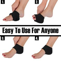 5 Provides tight fit comfort around tendons and muscles to improve blood circulation and reduce inflammation. 4 Apply to bone hyperplasia, ankle pain, joint pain and other symptoms of hyperthermia therapy. Lumbar Decompression, Neck Headache, Knock Knees, Bow Legged, Back Posture Corrector, Workout Belt, Compression Stockings, Neck Pain Relief, Heel Pain