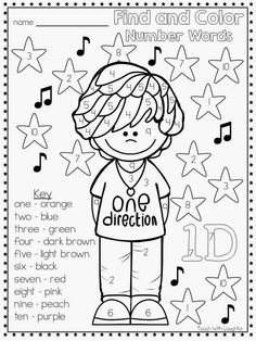 one direction name coloring pages - photo#11