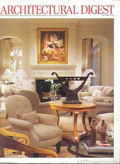 Architectural Digest - October 1998