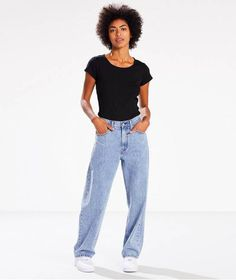 Are You Ready For The Comeback Of The Baggy Jean?+#refinery29