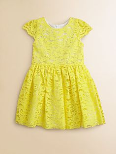 Halabaloo Toddler's & Little Girl's Lace Dress BOTH