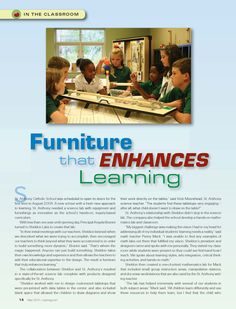 Furniture that Enhances Learning St. Anthony Elementary School, Madison,MS