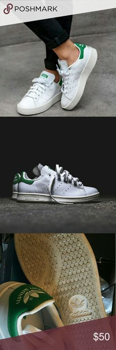 the best attitude d8d1a 1d697 Adidas stan smith green In great condition!! Worn once only! Size is 5