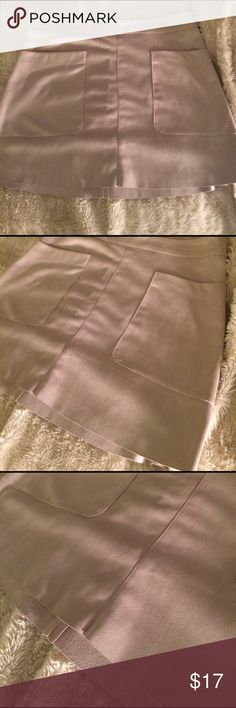 Tan Glamorous suede skirt Very soft suede skirt by Glamorous. Great condition Glamorise Skirts Mini
