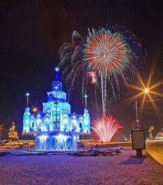 NEW YEAR in Saint - Petersburg