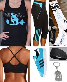 crossfit outfit. Who says you can't be stylish while losing half your body?!