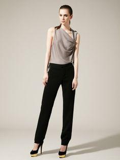 Helmut Lang Cusp Leather Pocket Trouser