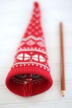 How to Make Christmas Gnomes | eHow Christmas Sewing, Christmas Gnome, Christmas Projects, Holiday Crafts, Christmas Ideas, Xmas, Christmas Stuff, Christmas Decorations, Christmas Ornaments