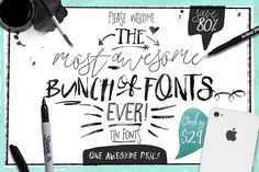 Big Bunch of Fonts
