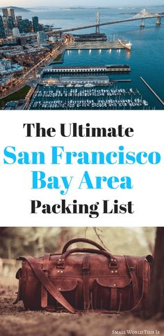 Going to San Francisco soon? Here's a guide on what to pack to be prepared for all the microclimates Usa Travel Guide, Packing List For Travel, New Travel, Packing Tips, Travel With Kids, Travel Usa, Travel Tips, Travel Expert, Travel Articles