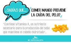 ¿Sabías que comer mango previene la caída del pelo?