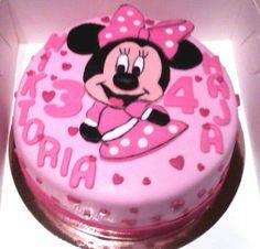 Tort myszka Minnie