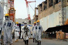 Fukushima muro di ghiaccio per isolare la centrale