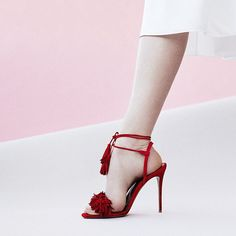 Step up your style in Aquazzura. #perfectpairs