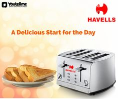 Breakfast deserves the best #Toasters   #PopupBreadToasters   #HavellsToasters   #PhilipsToasters   #BajajToasters   #Ovens