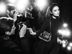 The Black Swan start fronts Miss Dior campaign. It's no secret that we are fans of Mila Kunis. So we're pretty happy that she's fronting the newest Miss Dior Fall Winter 2012 campaign for the second year in a row. Mila Kunis, It Bag, Fall Handbags, Dior Handbags, Chloe Handbags, Bags Online Shopping, Online Bags, Natalie Portman, Best Advertising Campaigns
