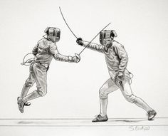 The Art of Fencing Portfolio 2009-2010 by Sascha Brock, via Behance