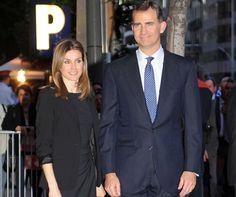 El príncipe Felipe de Borbón y la princesa Letizia #royals #royalty #princess