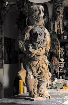 The shamanistic art of Michel Nedjar, in RV 63. http://rawvision.com/articles/michel-nedjar-my-dolls-saved-me
