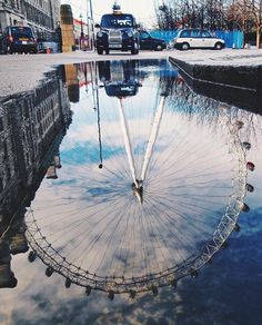 Rain rain go away!  ||  by @sezyilmaz down at the #LondonEye  || #thisislondon #southbank by london