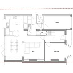Planning Permission has recently been grantedfor a two storey extension and internal alterations to a property on Graydon Avenue in Chichester. Kitchen Extension Semi Detached House, Kitchen Extension Floor Plan, Bungalow Extension Plans, Garage Extension, Loft Conversion Extension, 1930s House Extension, Cottage Extension, Bungalow Floor Plans, Side Extension