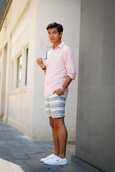 East coast preppy summer style via alexanderliang.com