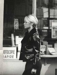 #BrigitteBardot shows all that #leather is timely