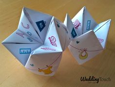 Faire-part de naissance style cocotte en papier ©weddingtouch
