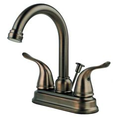 Foremost Faucet 2020BZ Two Handle Centerset Lavatory Faucet with Pop-Up Drain, Brushed Bronze Finish Builders Shoppe http://www.amazon.com/dp/B00CY0WPMA/ref=cm_sw_r_pi_dp_LnFOtb1PYNZDJWGX