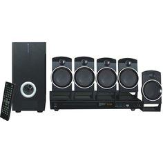 Naxa - DVD Home Theater System - Black