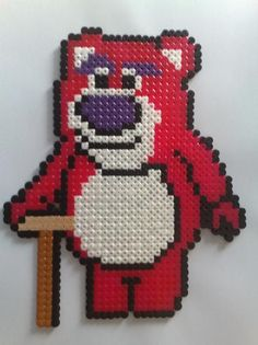 Lots-O'-Huggin' Bear Toy Story hama perler beads
