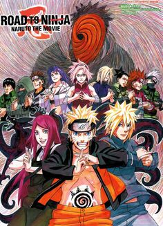 Naruto. Road to Ninja Movie Poster