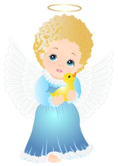 Cute Angel Transparent PNG Clip Art Image