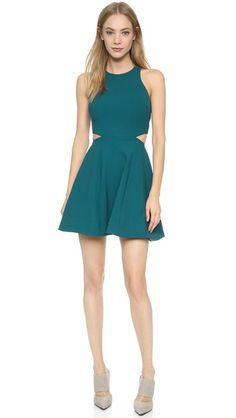 Small cutouts add a subtle sexiness to a perfect date night dress. Shopbop.com -- Elizabeth and James Emorie Dress