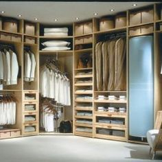 Concepts in wardrobe design. Storage ideas, hardware for wardrobes, sliding wardrobe doors, modern wardrobes, traditional armoires and walk-in wardrobes. Closet design and dressing room ideas. Bedroom Closet Design, Master Bedroom Closet, Wardrobe Design, Closet Designs, Diy Bedroom, Wardrobe Ideas, Bedroom Wall, Closet Storage, Closet Organization